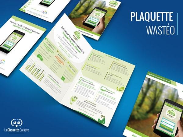 plaquette wasteo