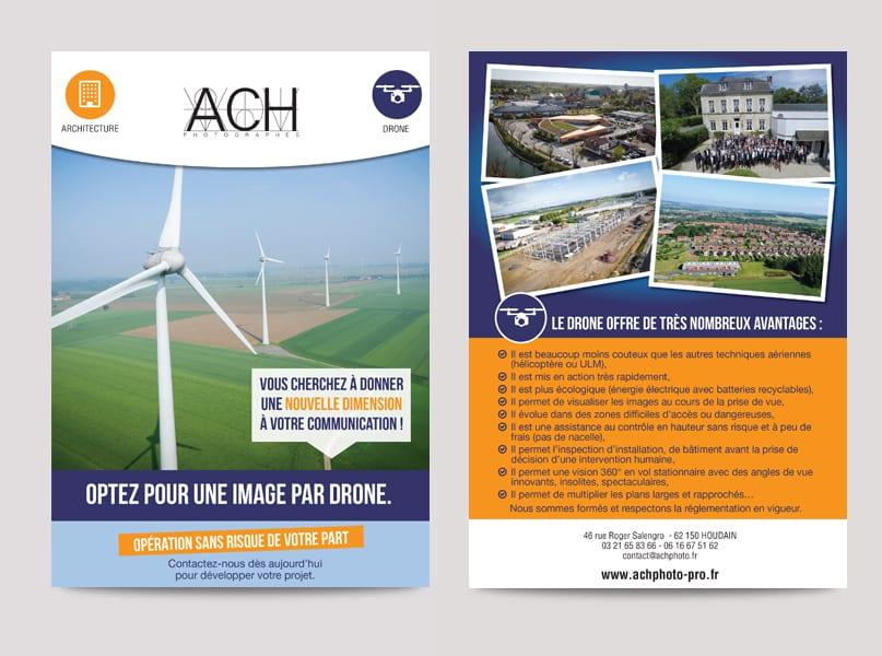 Fiche produit Drone ACH Photo