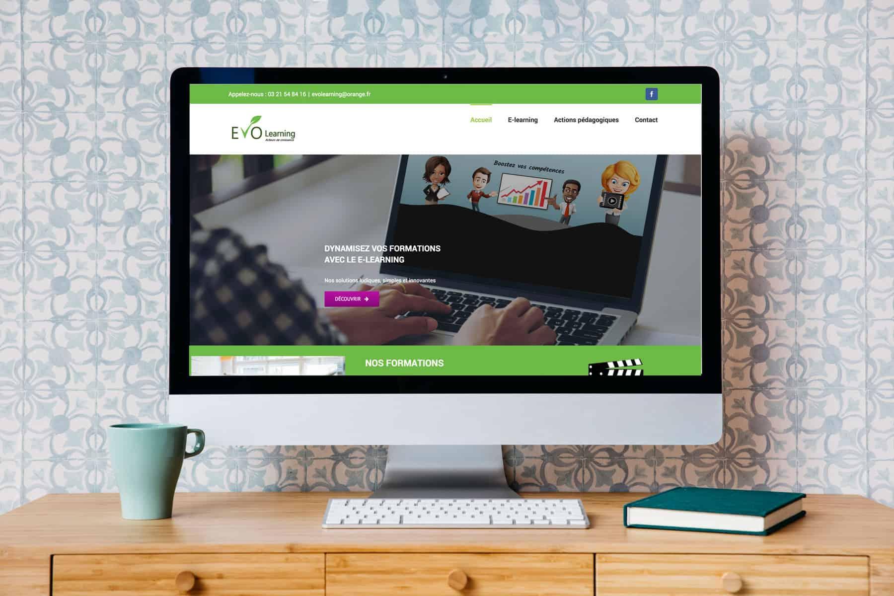 Evo-learning - Creation de site web