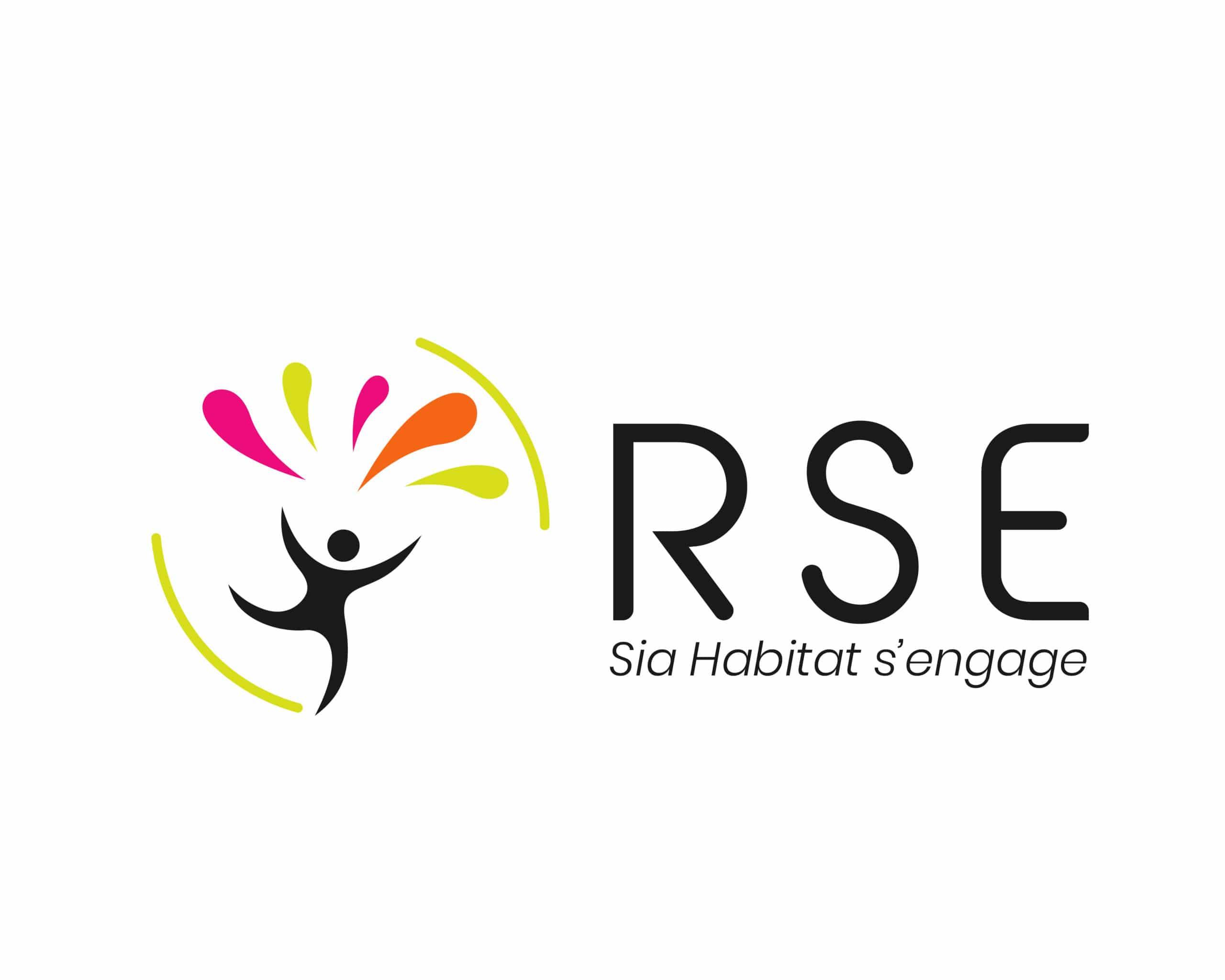 Logo RSE pour SIA Habitat